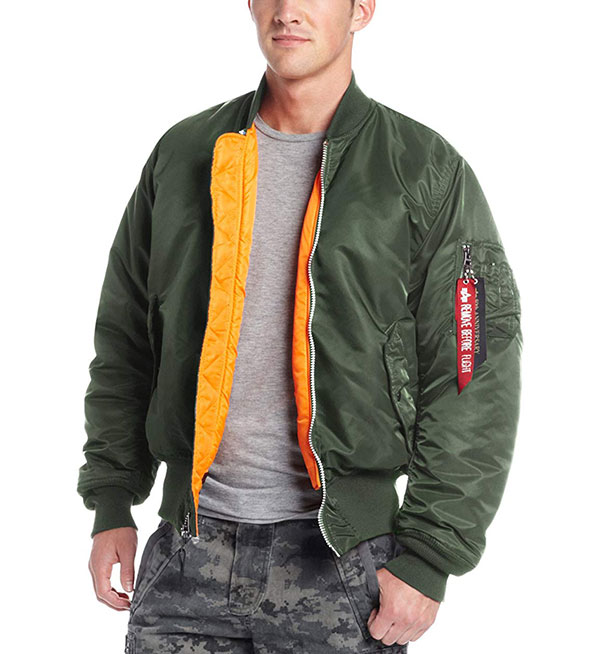 Alpha Industries MA-1飞行员夹克